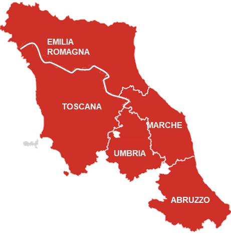 Cartina Abruzzo Umbria.Tuquitour Fano Pu Le Marche E Il Cuore Dell Italia Con Noi Umbria Emilia Romagna Toscana E Abruzzo