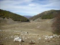 Il piano di Terraegna nel Parco d'Abruzzo