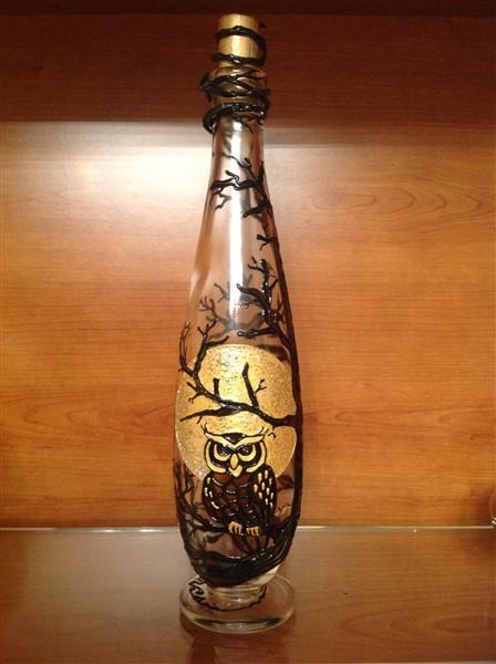 05 Bottiglia Gufo