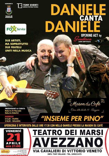Daniele canta Daniele - Insieme per Pino