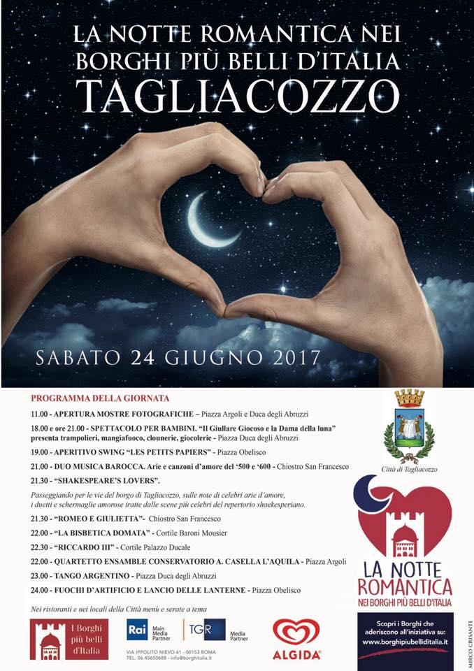 La Notte Romantica nel Borghi più belli d'Italia - Tagliacozzo -
