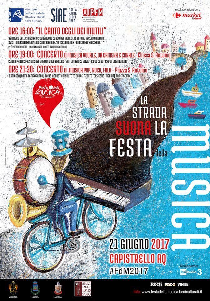La Strada suona la Festa della Musica