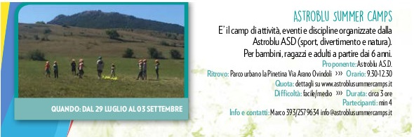 Astroblu Summer Camps