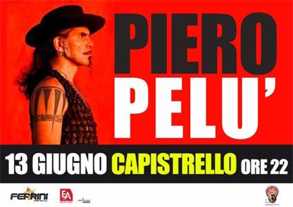 Piero Pelù in concerto a Capistrello