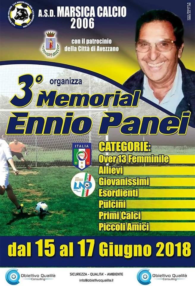 Terzo Memorial Ennio Panei