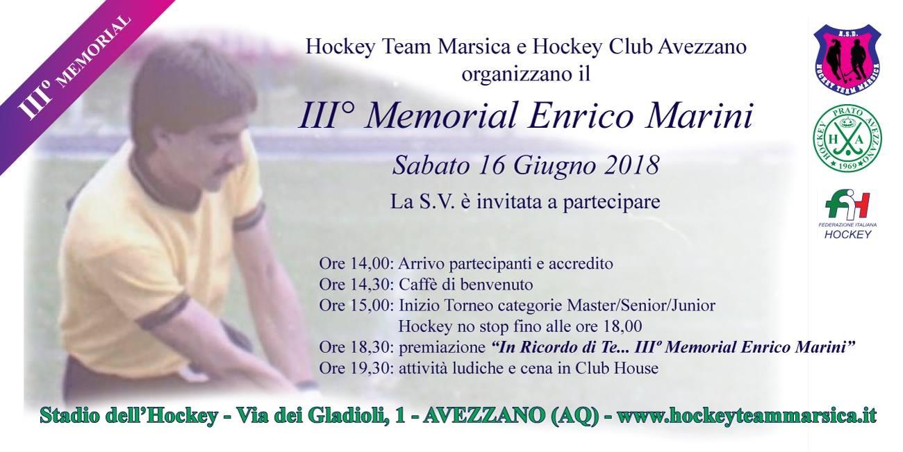 III° Memorial in ricordo di Enrico mariani