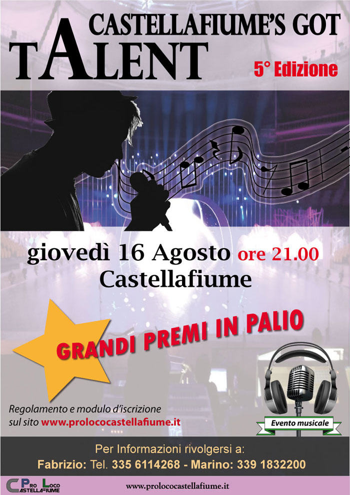 Castellafiume's got talent  5° edizione