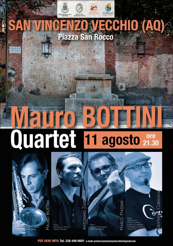 Mauro Bottini quarter in concerto