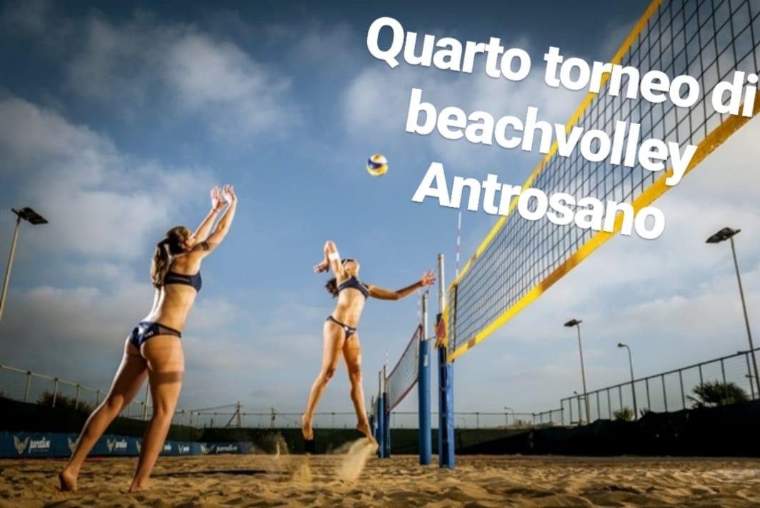Quarto torneo di beach volley ad Antrosano