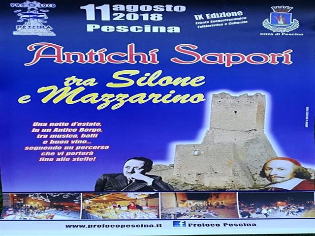 9° edizione di Antichi Sapori tra Silone e Mazzarino