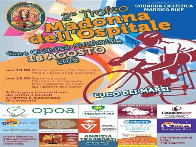 2° Trofeo Madonna dell'Ospitante, Gara ciclistica Amatoriale