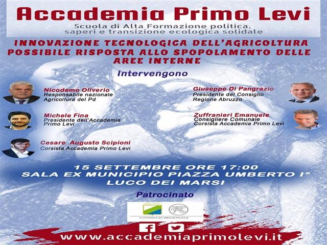 Conferenza dell'Accademia Primo Levi