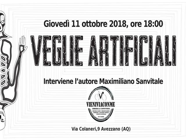 Presentazione del libro ' Veglie Artificiali ' di Maximiliano Sanvitale