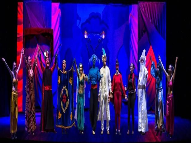 Spettacolo ' Le mille ed una notte di ... Al-addin' dell'associazione Hathor