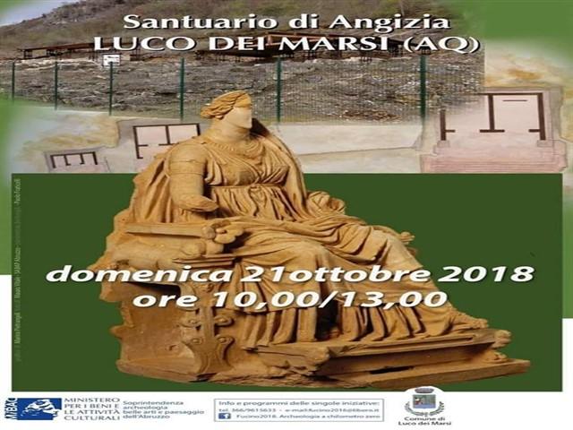 Visita guidata al Santurio Angizia di Luco Dei Marsi