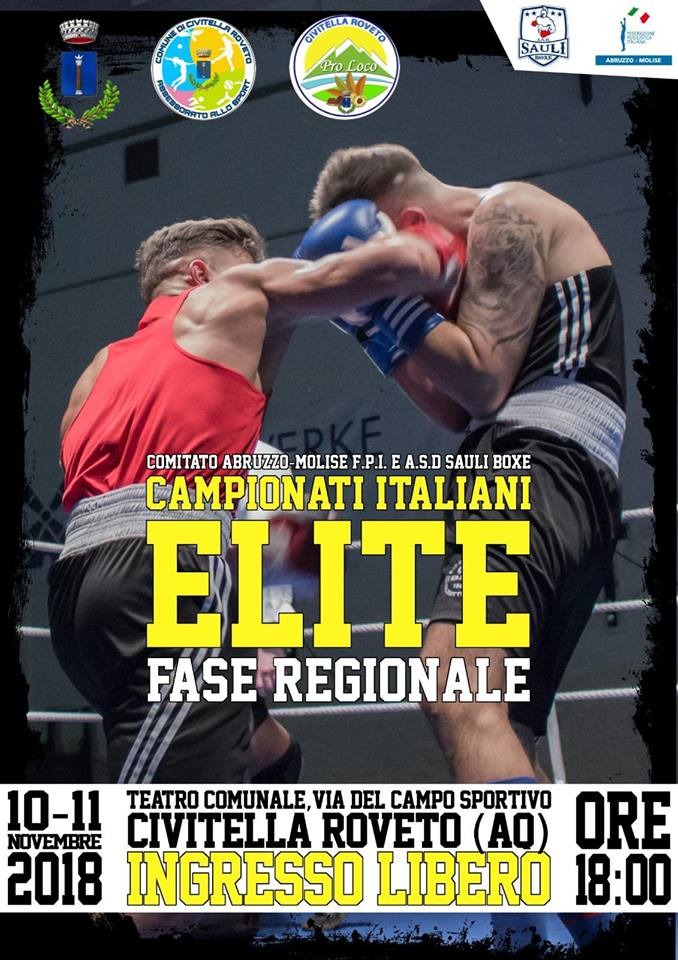 Campionati Italiani di Boxe Elite fase regionale