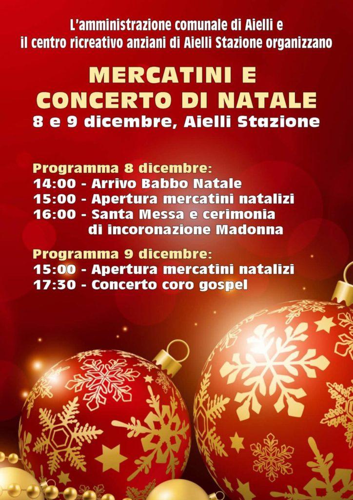 Mercatini e Concerto di Natale ad Aielli