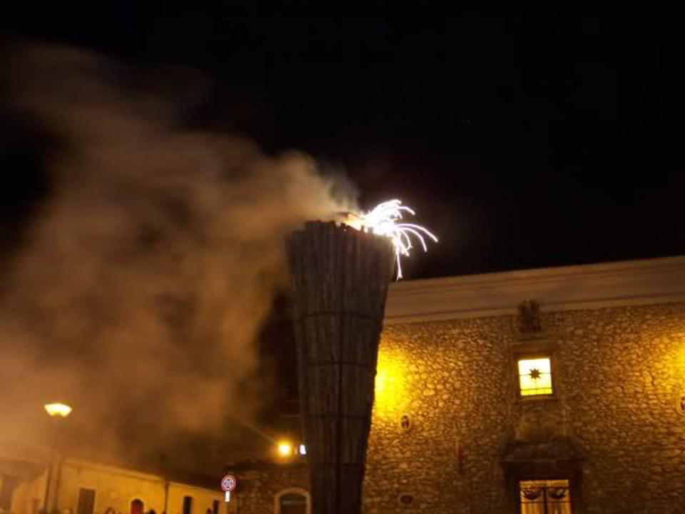 La feste delle Cottore a Collelongo in onore di Sant'Antonio