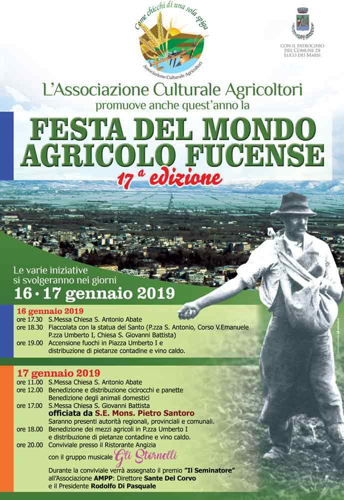 17' Edizione della Festa del mondo agricolo Fucense a Luco Dei Marsi