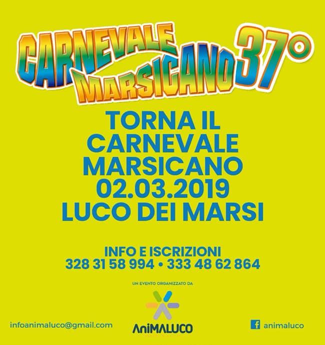 37' Edizione del Carnevale Marsicano a Luco Dei Marsi