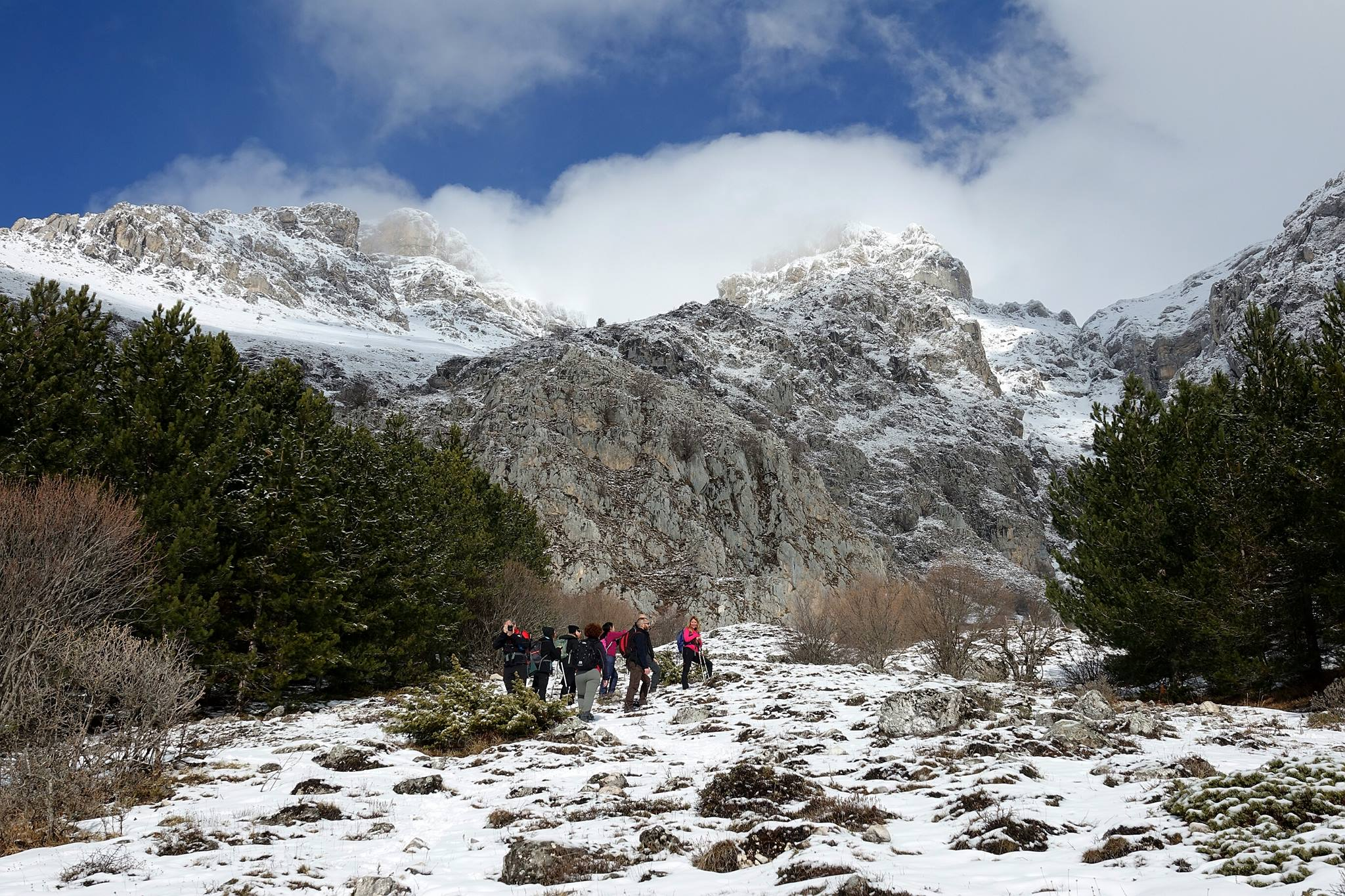 Escursione 'La grotta di san Benedetto'