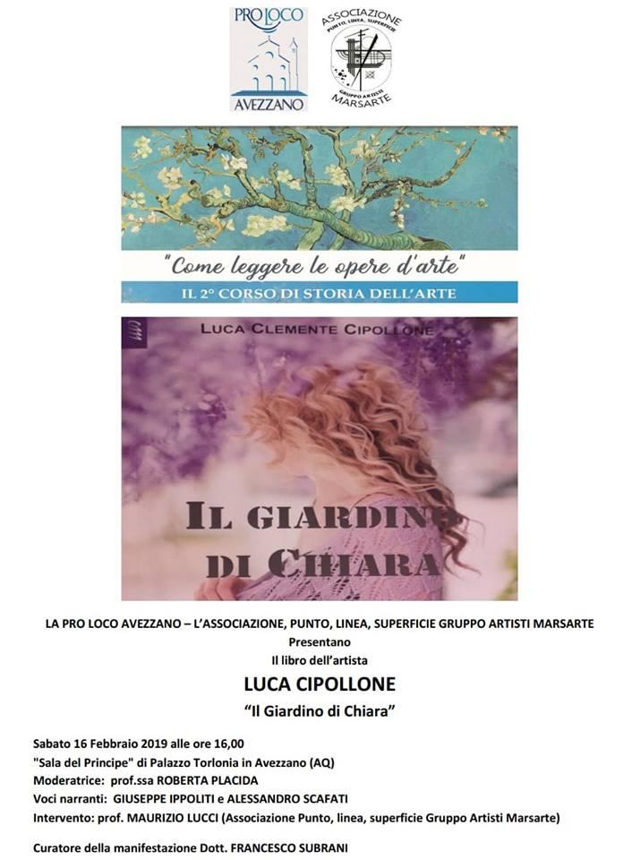 Presentazione del libro 'Il giardino di Chiara' presso il Palazzo Torlonia