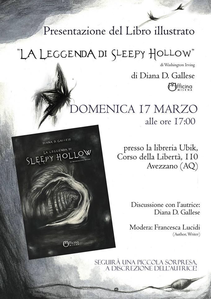 Presentazione del libro 'La leggenda di Sleepy Hollow'