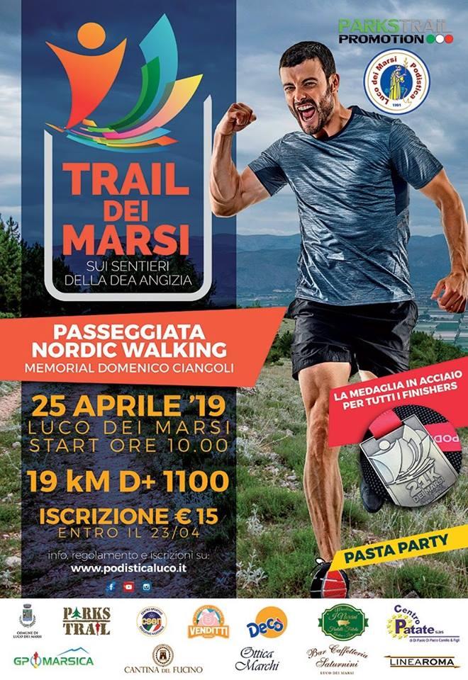 TRAIL DEI MARSI 2019
