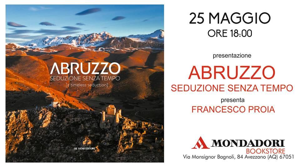Presentazione del libro 'Abruzzo seduzione senza tempo'