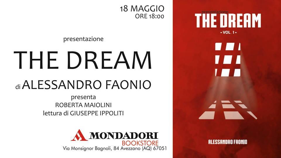 Presentazione del Libro 'The Dream' di Alessandro Faonio alla Mondadori di Avezzano