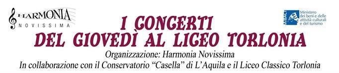 I Concerti del Giovedi' al Liceo Torlonia di Avezzano