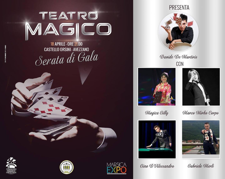 Teatro Magico al Castello Orsini di Avezzano