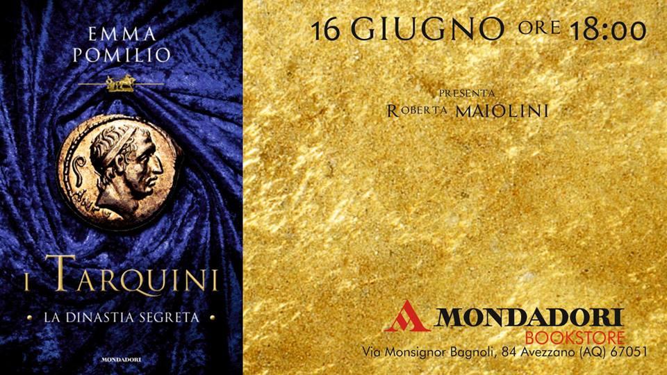 Presentazione del Libro: ' I Tarquini, la dinastia  segreta' presso la Mondadori
