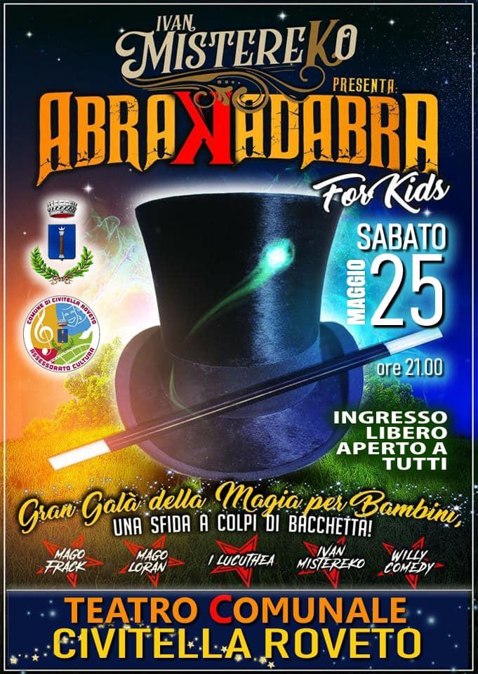 Gran Gala' della Magia per bambini a Civitella Roveto
