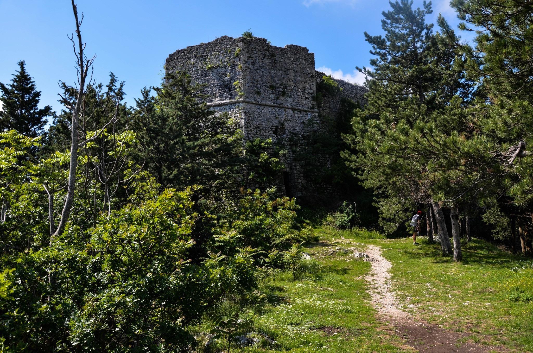 Escursione notturna presso il Castello di Sora