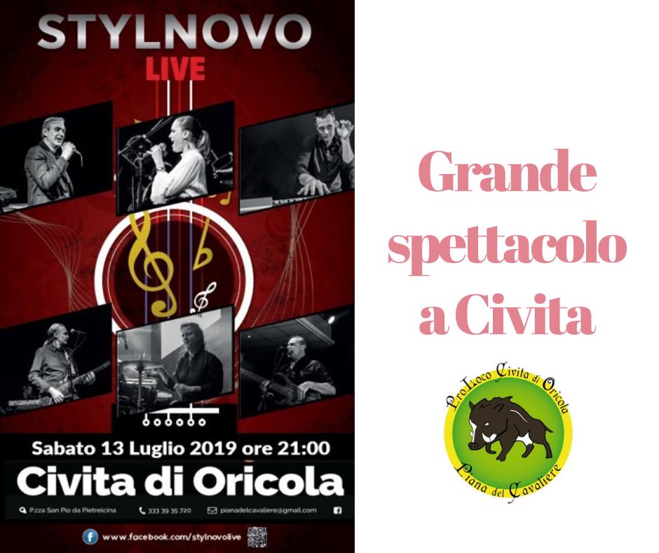Concerto Stylnovo Live