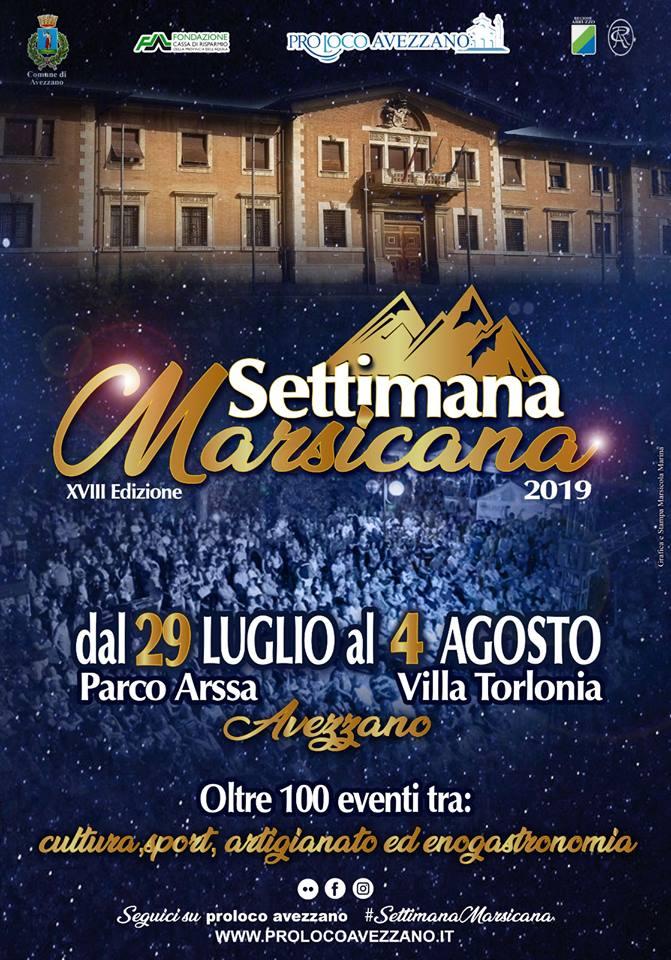 La Settimana Marsicana ad Avezzano