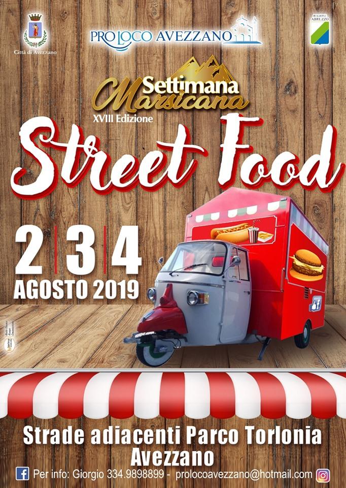 Street Food alla settimana Marsicana
