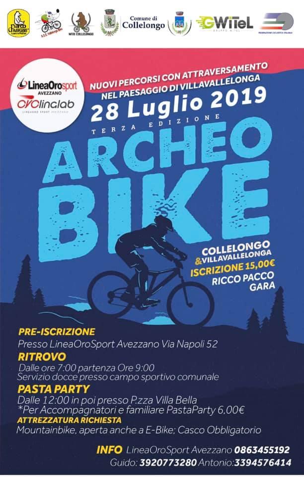Archeo Bike, Gara ciclistica a Collelongo