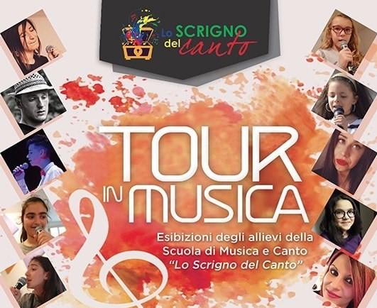 'Tour in musica', esibizione della scuola di canto 'lo scrigno del canto' a Cerchio