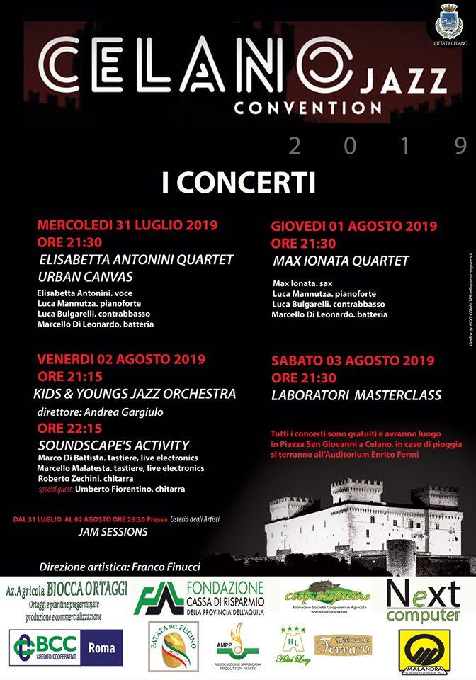 Celano Jazz Convection 2019