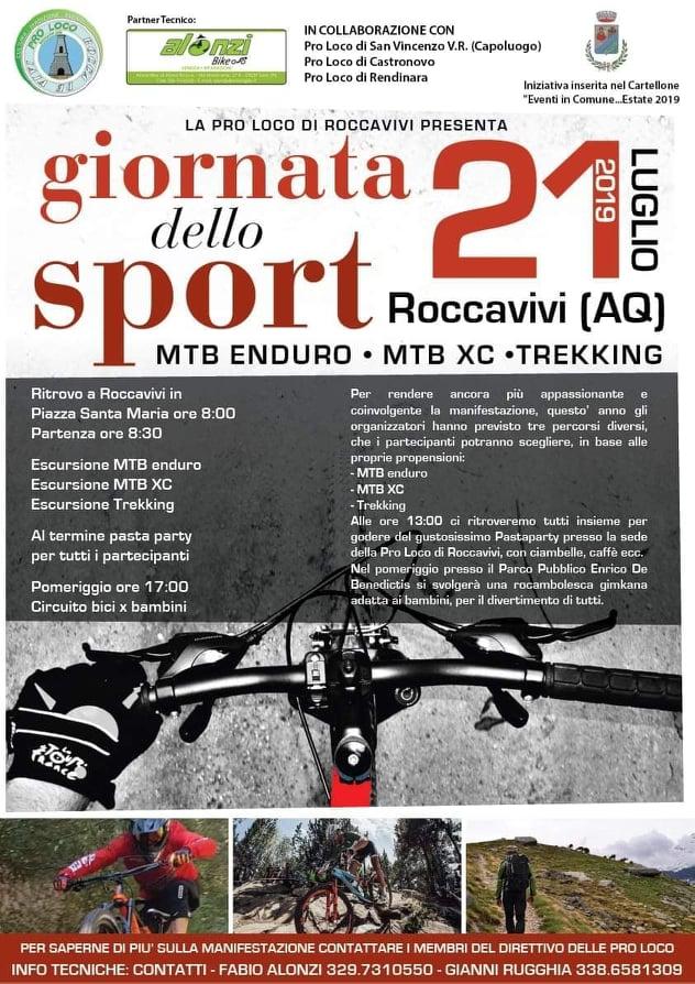 Giornata dello sport a Roccavivi