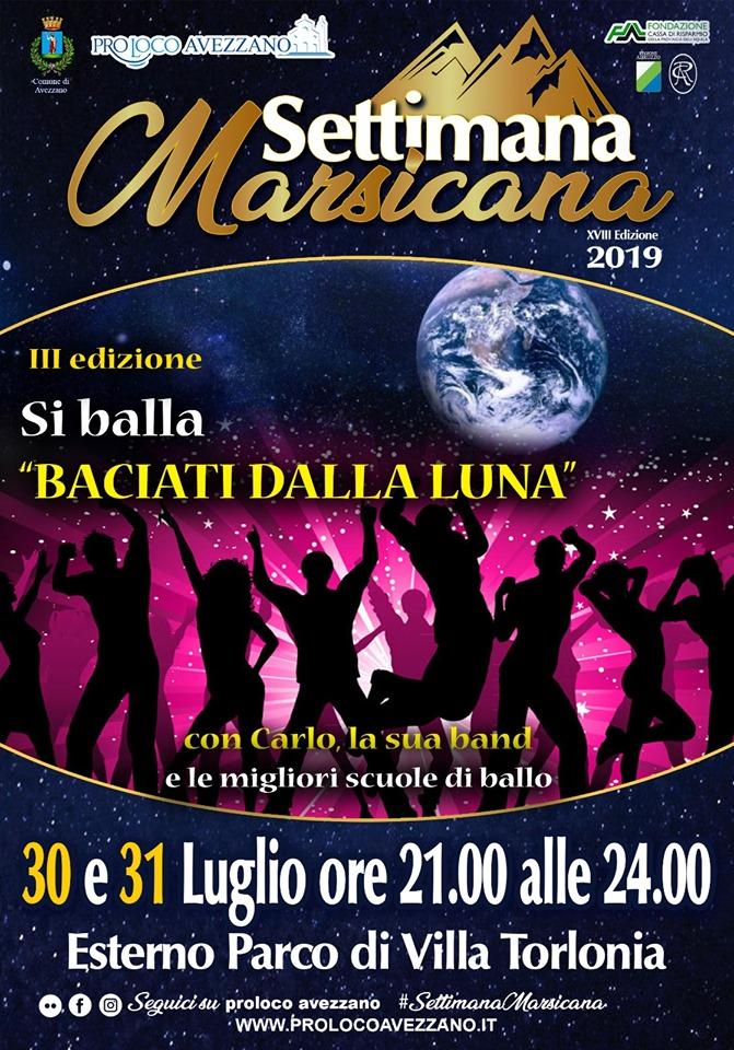Esibizione delle migliori scuole di ballo alla Settimana Marsicana