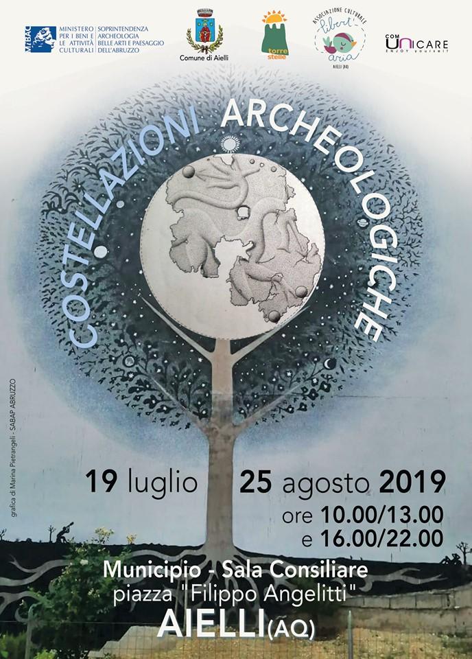 Costellazioni archeologiche in mostra ad Aielli