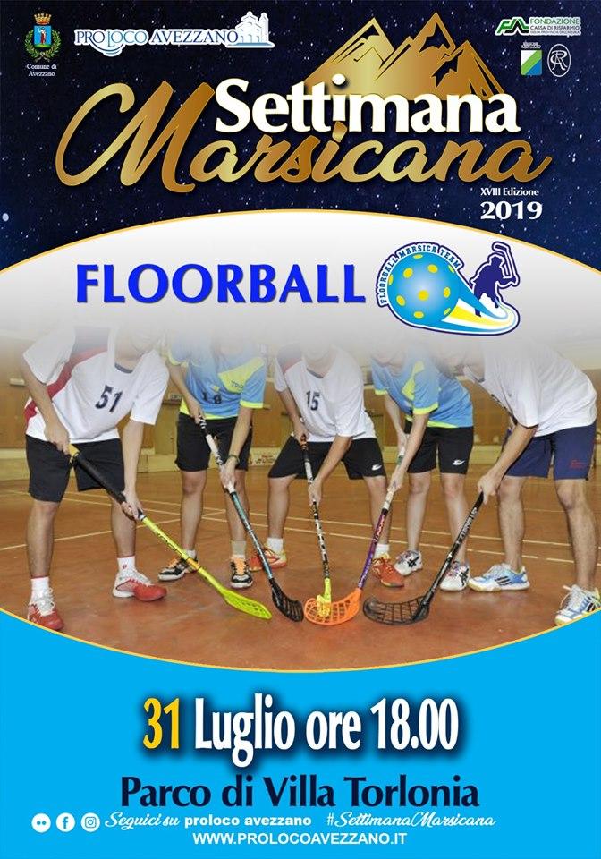 Floorball alla settimana Marsicana