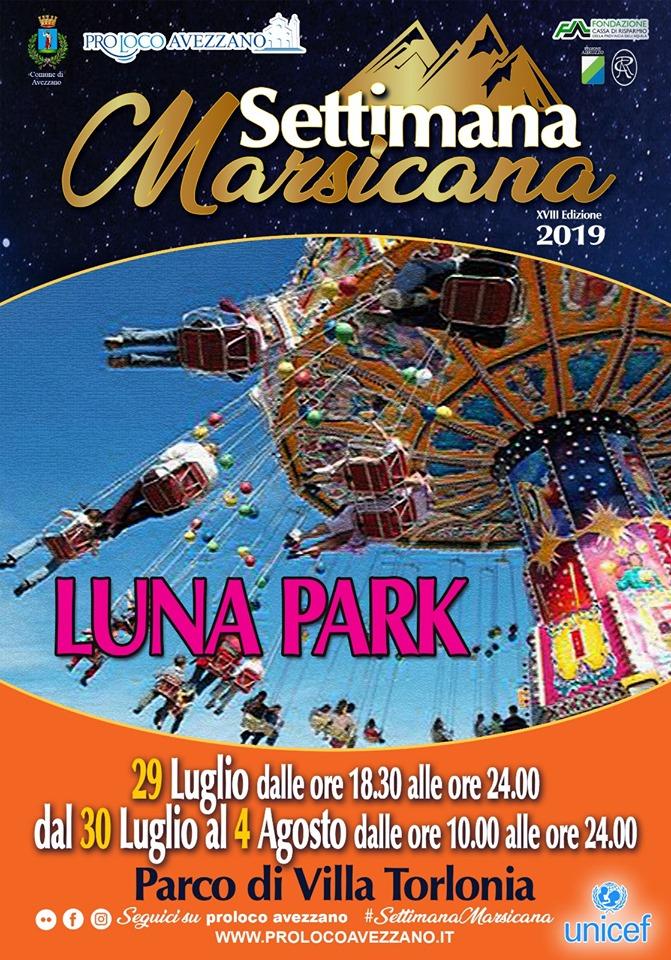 Luna Park alla settimana Marsicana