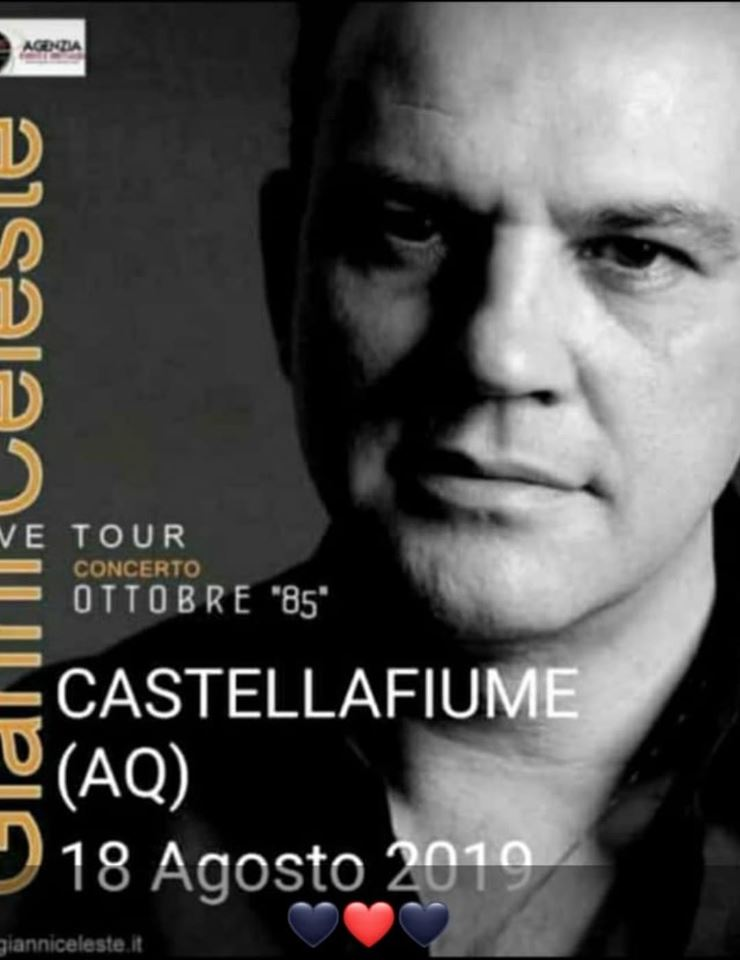 Gianni Celeste in concerto a Castellafiume