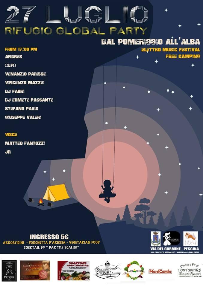 Il Rifugio Silone presenta la prima edizione del 'Rifugio Global Party'