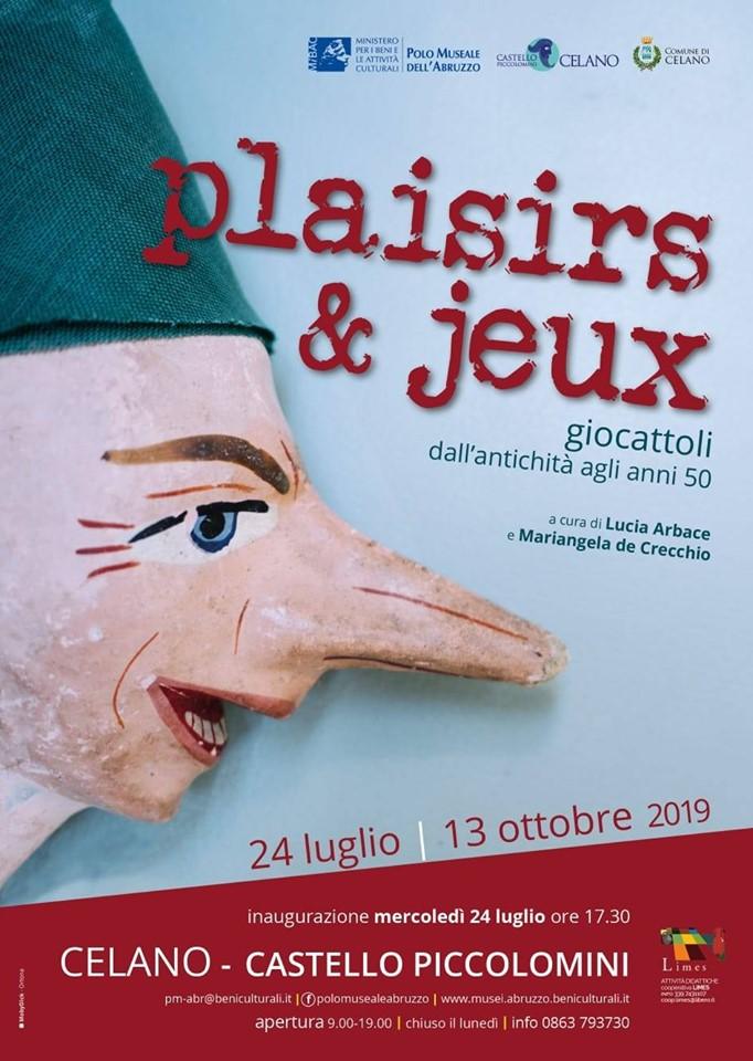 Mostra 'Plaisirs et jeux', dedicata ai giocattoli dall'antichita' agli anni '50