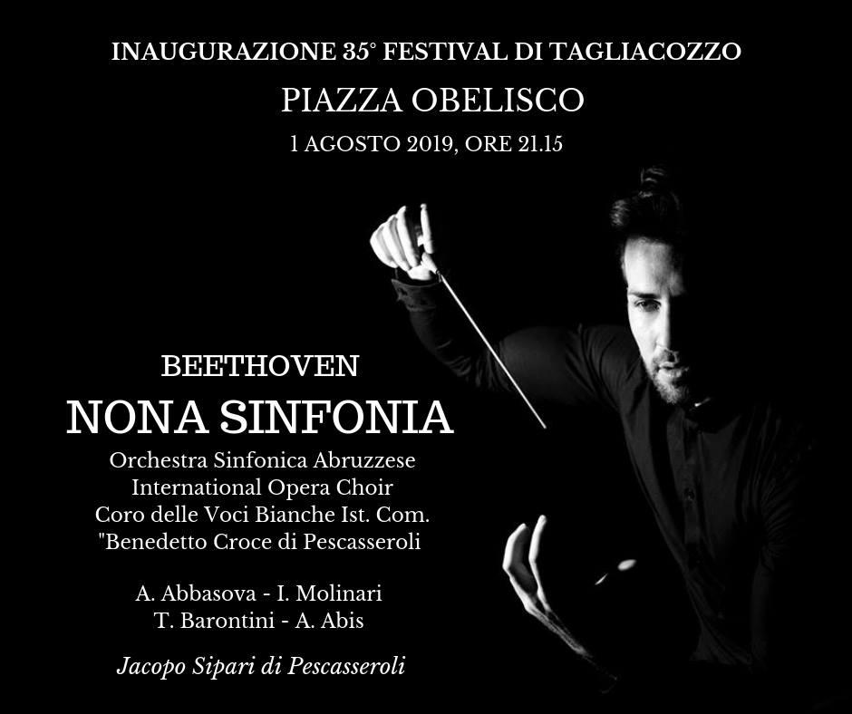 Festival internazionale di mezza estate: Concerto di inaugurazione -Beethoven - nona sinfonia